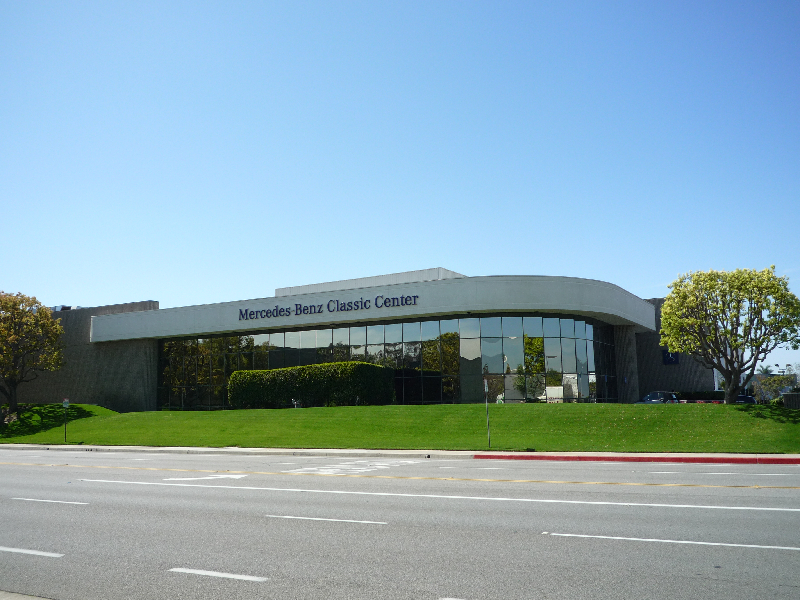 mercedes benz classic center usa in irvine kalifornien