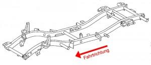 Mercedes G Rahmen komplett_1
